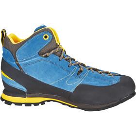 la sportiva boulder x mid shoes men blue yellow at. Black Bedroom Furniture Sets. Home Design Ideas